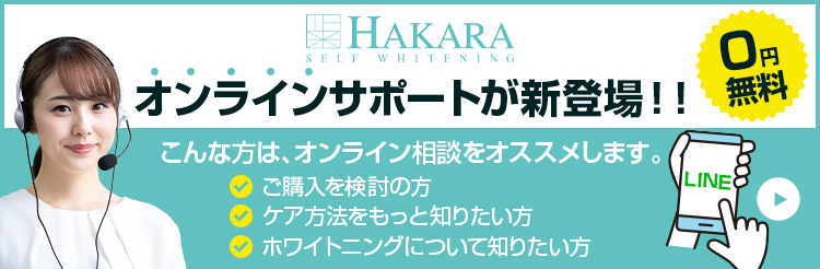 HAKARAオンラインサポート